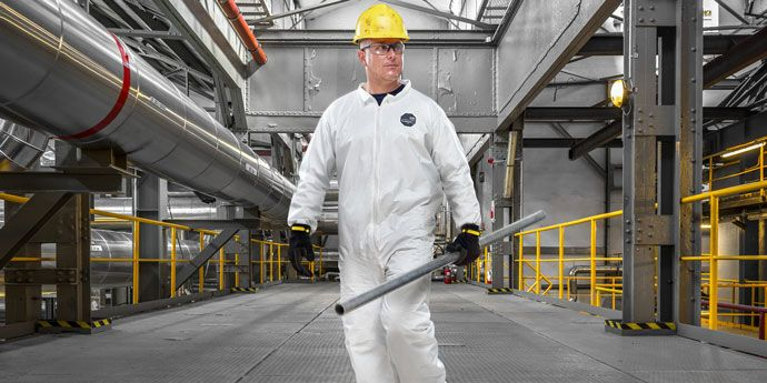 ProShield® NexGen® protective coveralls help protect in non-hazardous environmen