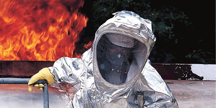 DuPont™ Tychem® Reflector® is a top choice for HAZMAT personnel.
