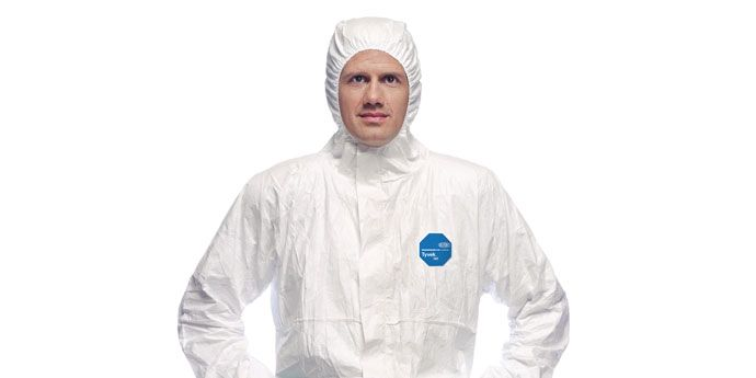 Tyvek® Classic Xpert garments offer reliable protection for occupations that com