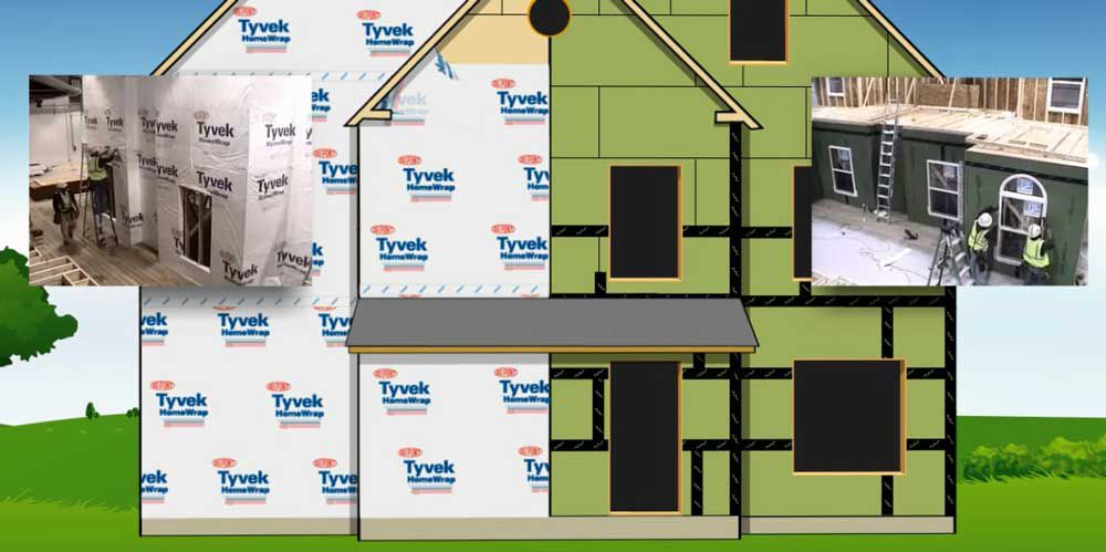 Tyvek® Building Envelopes vs. ZIP System® - Speed Comparison