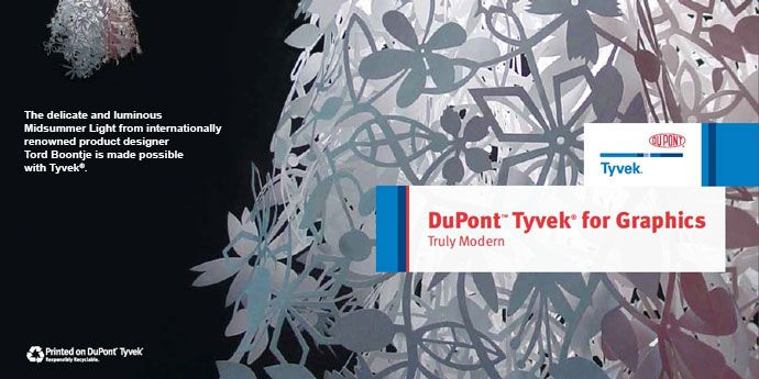DuPont™ Tyvek® for Graphics Swatchbook
