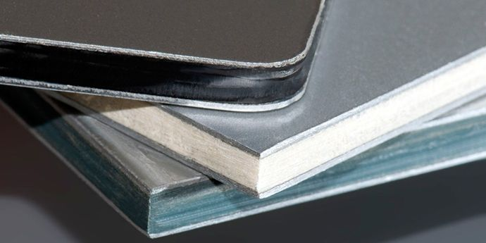 Tailored DuPont™ Bynel® resins can be used in composite building panels to meet a range of PE-aluminum adhesive needs.