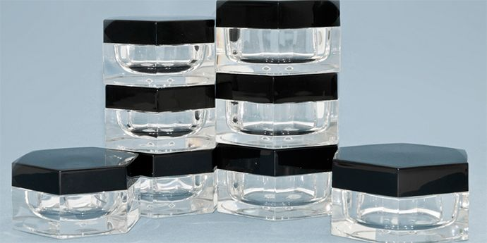 Politech cosmetics packaging for cosmetic jars
