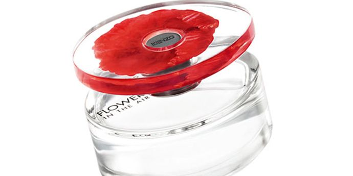 "Kenzo's ""Flower in the Air"" Fragrance Cap Surrounded by  DuPont™ Surlyn®"