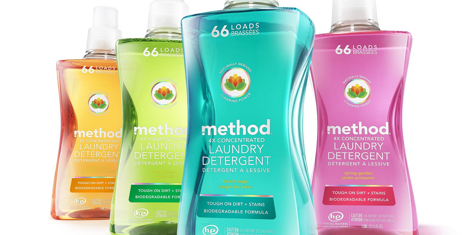 Method Liquid Laundry Detergent 53-Ounce PET Post-Consumer Recycled Bottle - 2016 Diamond Finalist Award - DuPont Awards for Packaging Innovation.