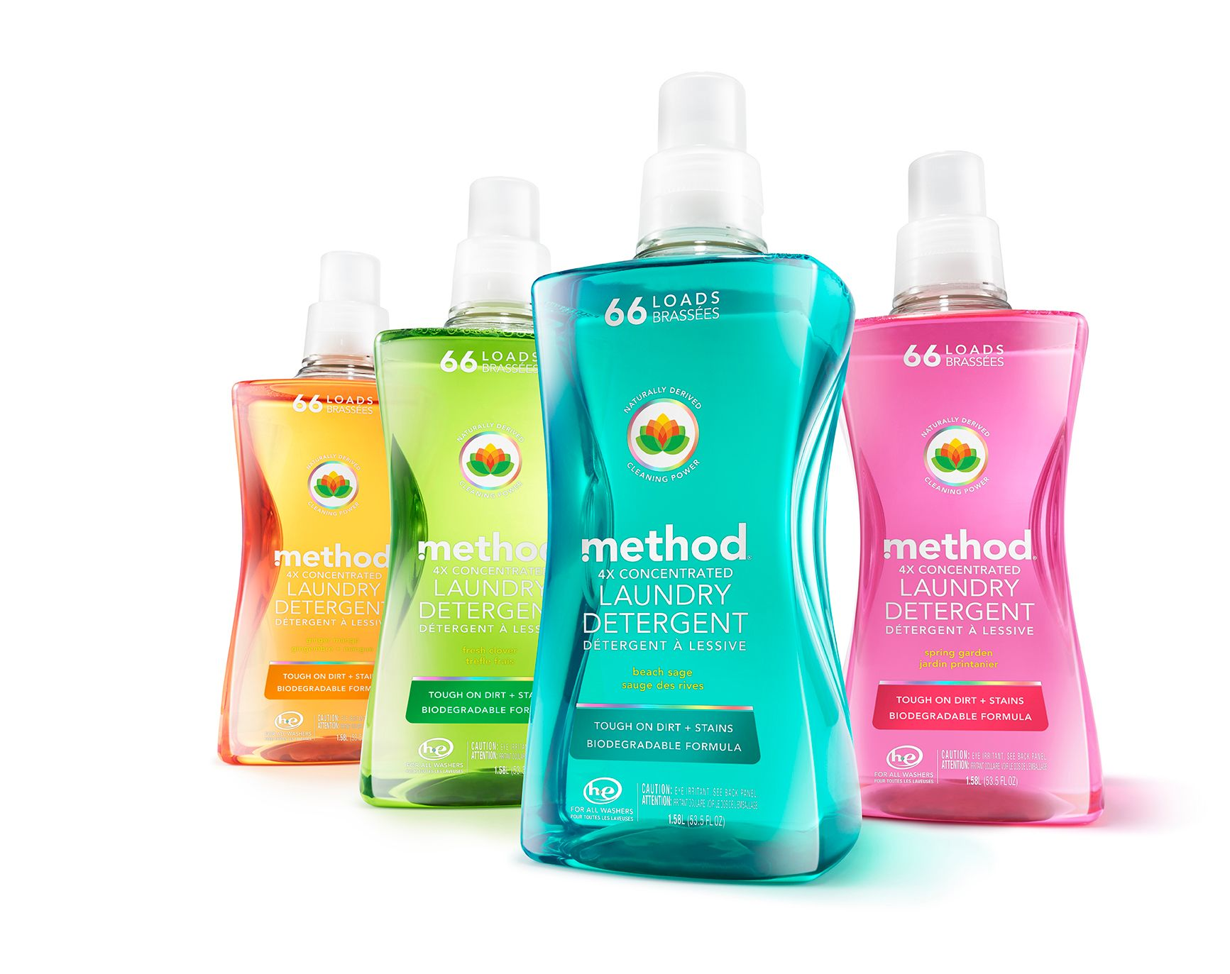 Laundry Detergent Recylced Bottle - 2016 Diamond Finalist Award