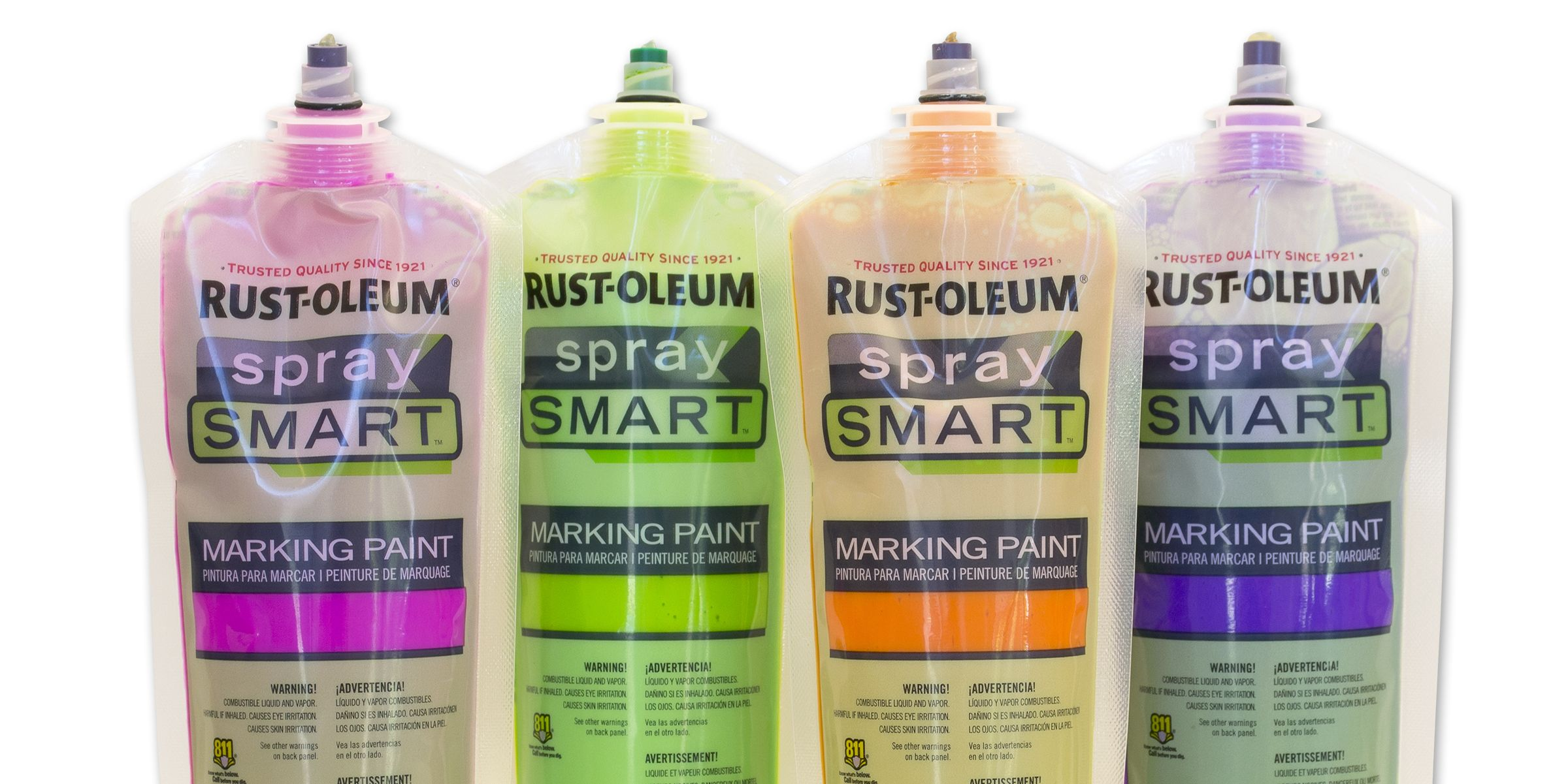Rust-Oleum® SpraySmart™ Marking Paint Pouch - 2016 Gold Award - DuPont Awards for Packaging Innovation