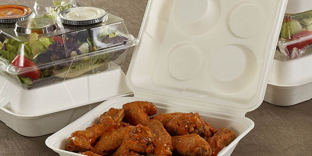 Sani-Stak™ Take-Out Container - 2016 Silver Award - DuPont Awards for Packaging Innovation