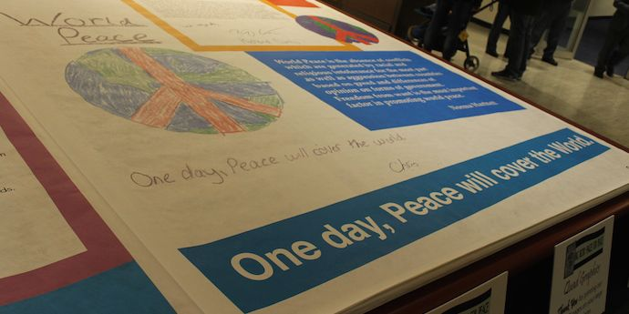 Tyvek Pages for Peace