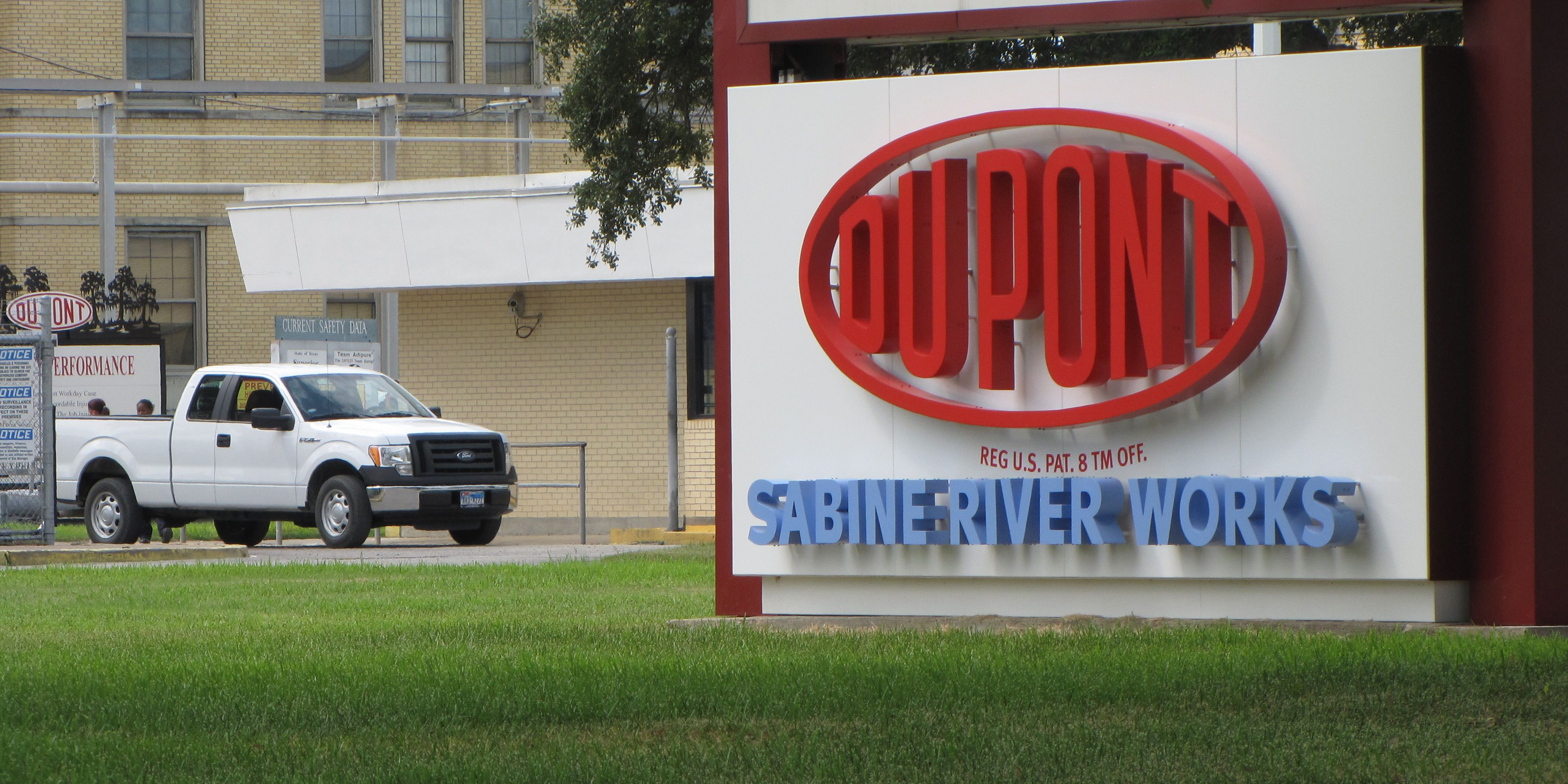 DuPont Sabine River Works site in Orange, Texas
