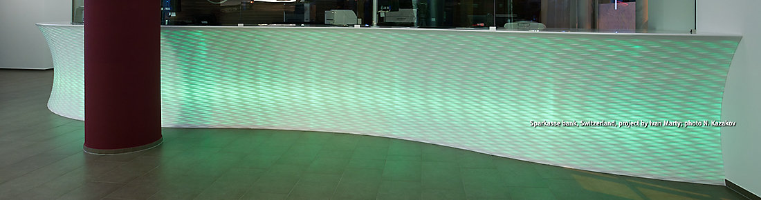 corian for reception desks