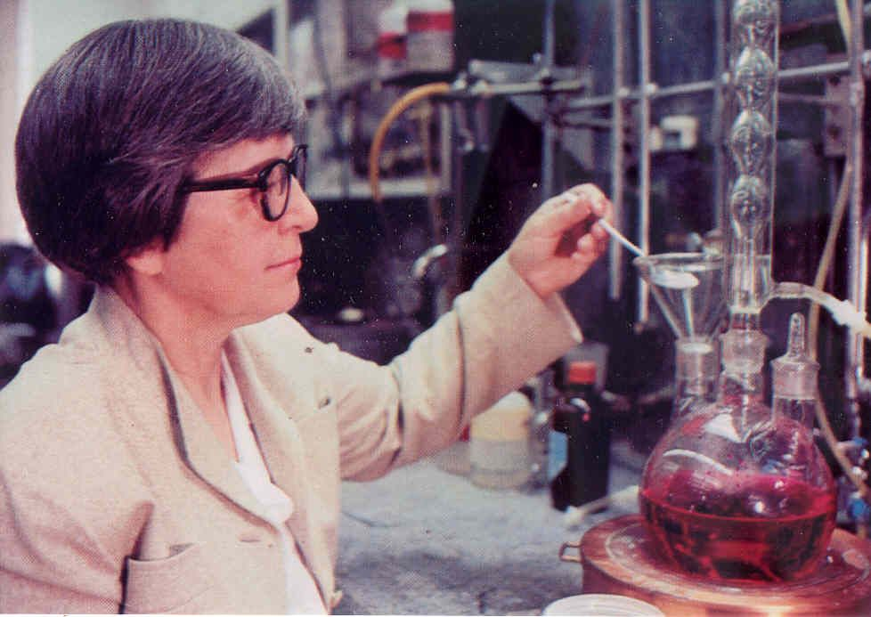 Stephanie Kwolek Lab Picture