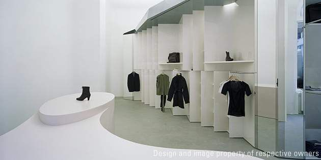 Acne-Store , Berlin, Germany; project and photo by Pierre Jorge Gonzalez / Judit