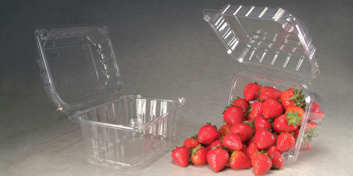 Clamshell packaging with Biomax® Strong