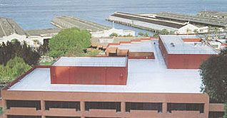 Membrane Roofing at San Francisco Bay