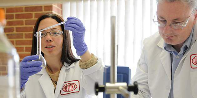 DuPont scientists developing a new natural insect repellent technology.