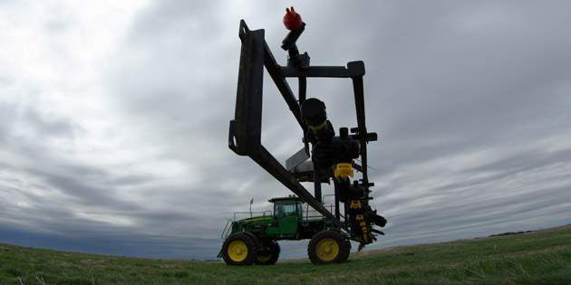 Field sprayer - For control against some of the most invasive weeds in Western Canada.