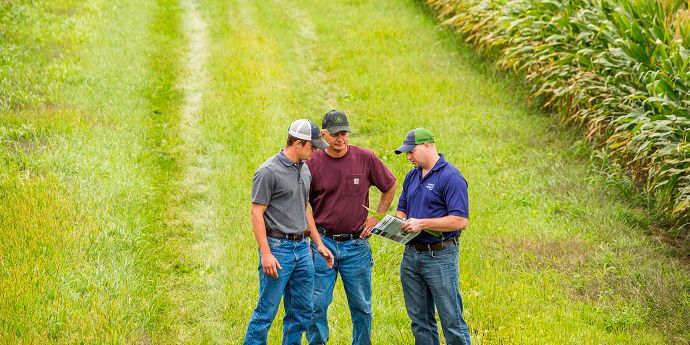 Working with an integrated crop management team can be the key to a successful growing season.