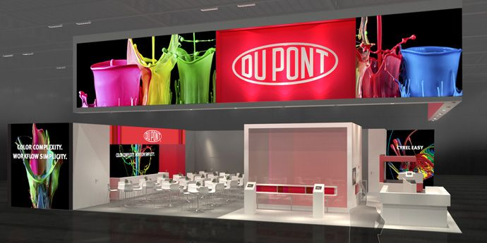 The DuPont Advanced Printing Booth at drupa 2016