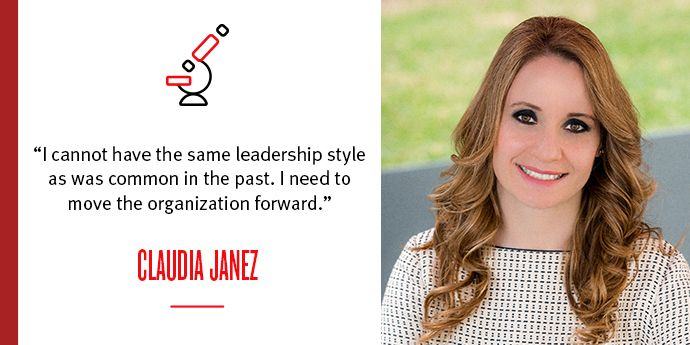 Spotlight on Claudia Jañez