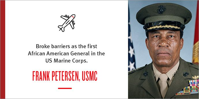 Frank E. Petersen Broke Down Barriers