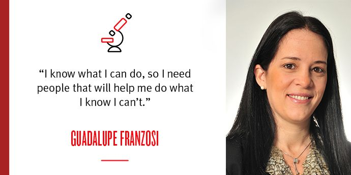 Spotlight on Guadalupe Franzosi