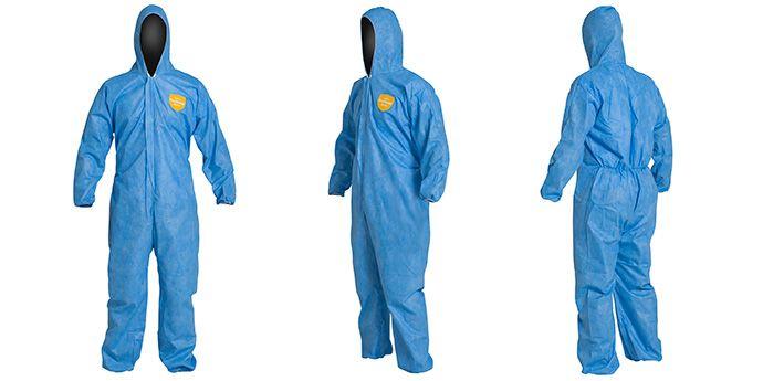 应对非危险性轻微液体喷溅和粉尘颗粒物危害时,ProShield® 防护服为您提供相对经济的适当防护。