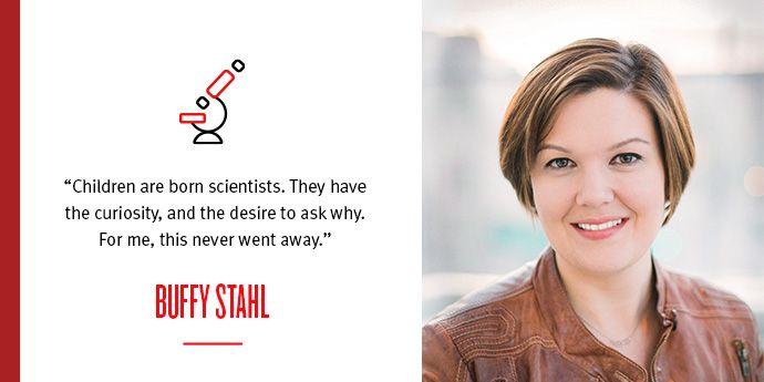 "Buffy Stahl: ""Born a Scientist"""