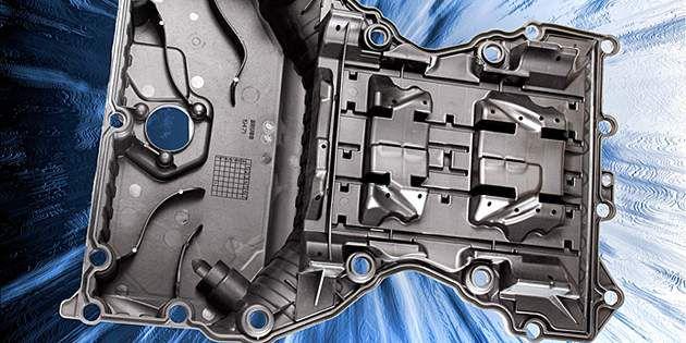 针对批量生产的汽车采用的首个聚合物油底壳模块