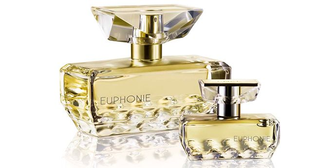 Euphonie fragrance packaging from L'Bel Fragrance made with DuPont™ Surlyn®