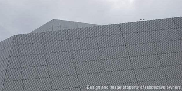Palais des Congrès,科特迪瓦阿比让;项目设计:Pierre Fakhoury;拍摄:杜邦™可丽耐®实体面材
