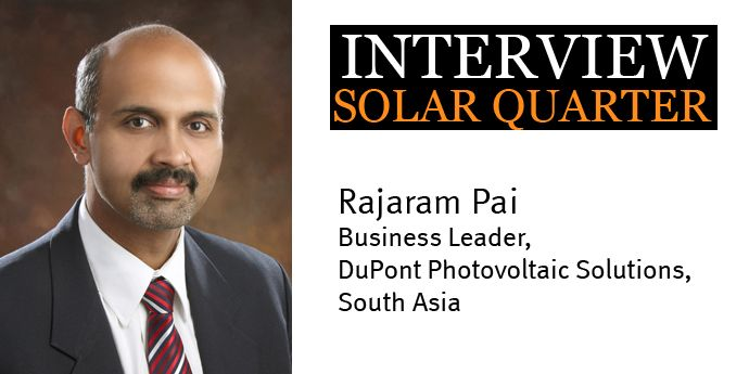Rajaram Pai interview with SolarQuarter