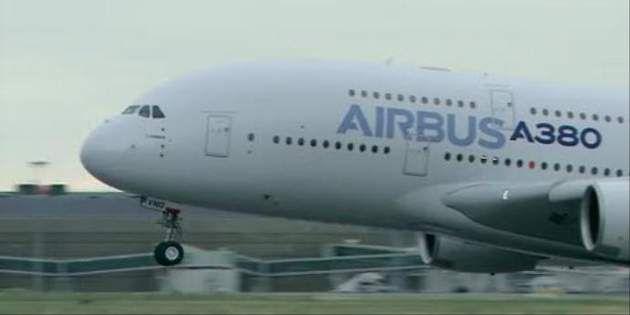 空客A380輕型飛機使用了Nomex® 和 Kevlar® 凱芙拉® 制成的高性能蜂窩材料