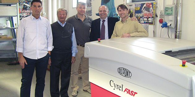 OKAY Paper installed a Cyrel® FAST thermal technology system which enabled them to improve printing quality