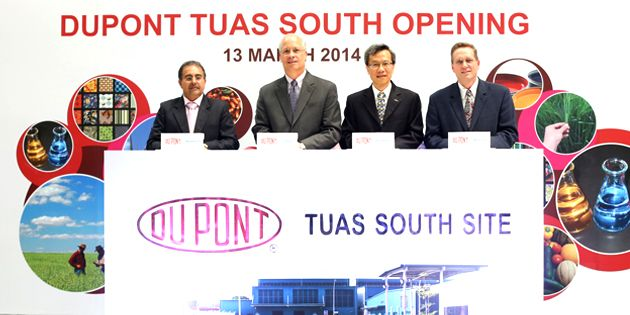 DuPont Tuas South Opening