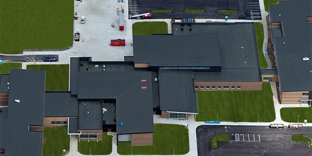 Johns Manville PVC Roof at Green Local School District