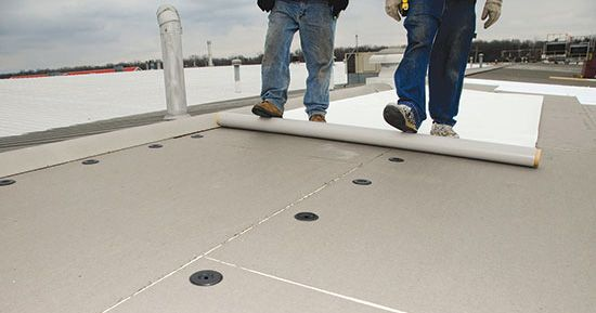 Indiana Tube Selects Johns Manville Pvc Roofing Membrane