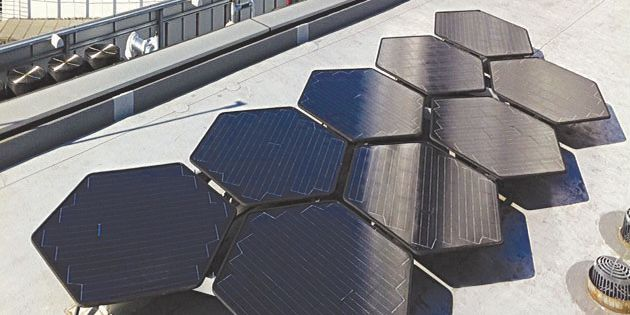 SolarClover panels