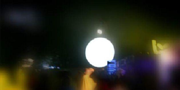 格拉斯顿伯里音乐节灯球