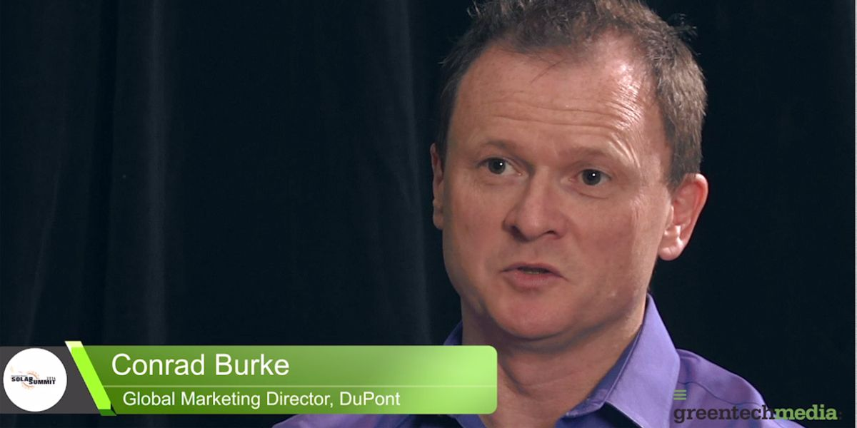 VIDEO: Conrad Burke Interview with GreenTech Media