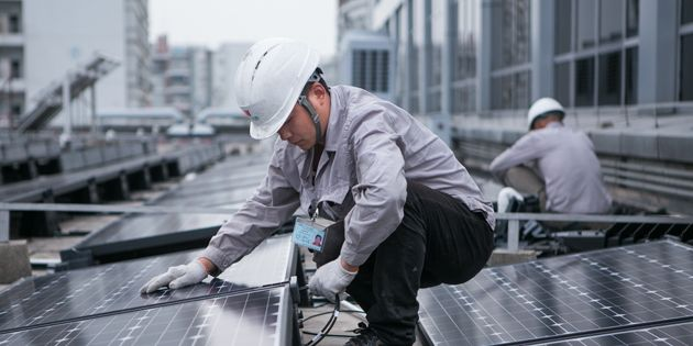 Rooftop Solar System at DuPont R&D Center in China