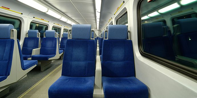 Tedlar® Used as a protective film on interior and exterior of trains, planes and other forms of transportation