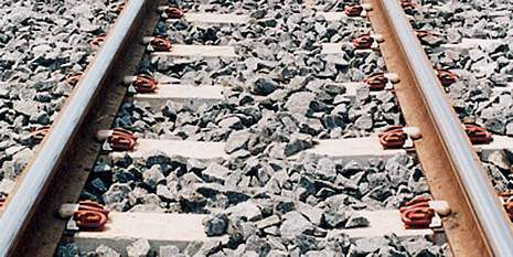 DuPont and Pandrol collaborated to develop durable rail pads that use Hytrel®.