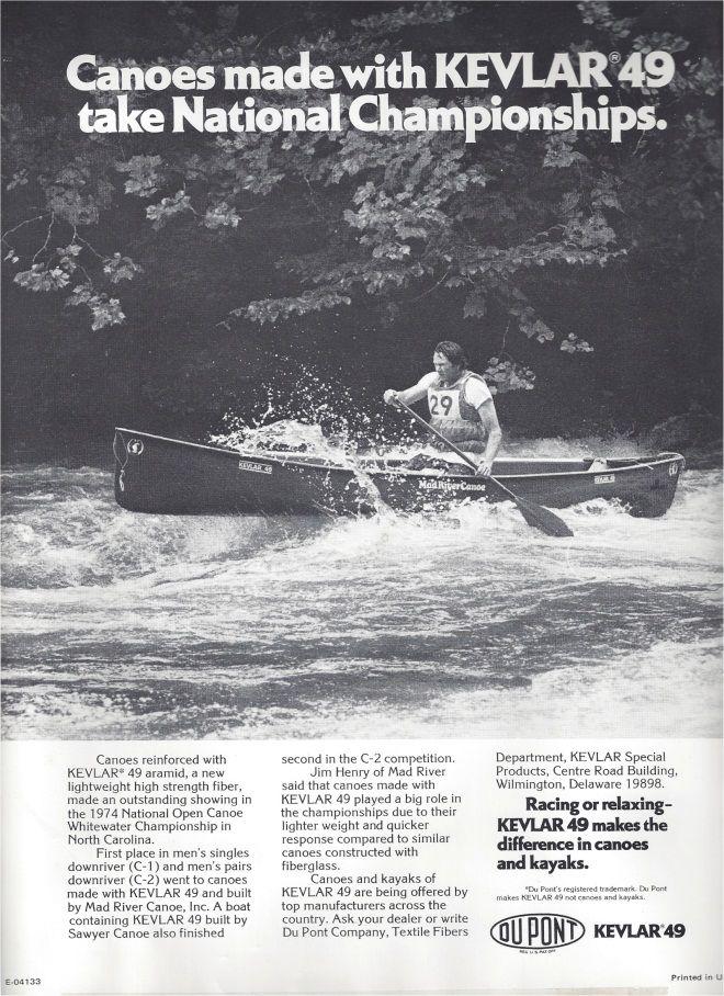 Kevlar® Dare Bigger™ Moments: Mad River Canoe | DuPont USA