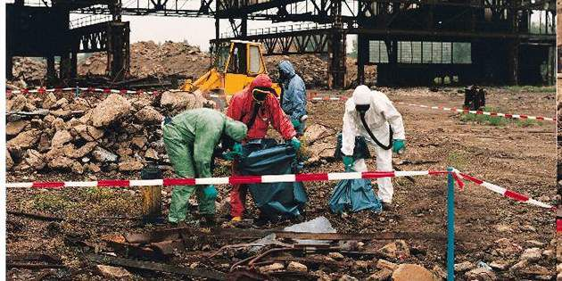 Learn how protective garments can protect workers at decontaminated land sites w