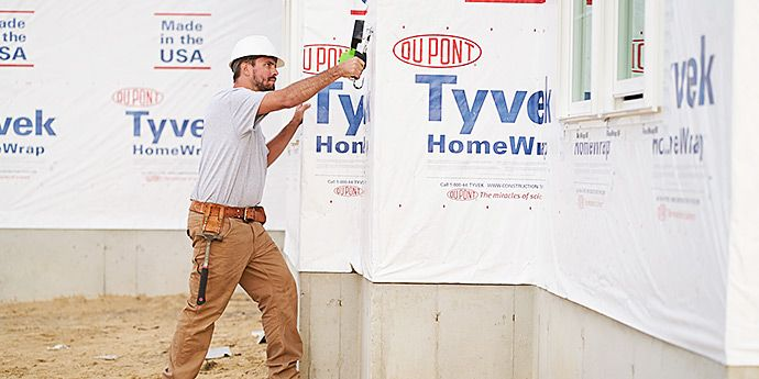 DuPont ™ Tyvek ® - Innovative Building Envelope Solutions for Nearly 40 Years