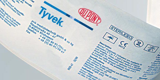 Impression sur Tyvek® | DuPont Medical and Pharmaceutical Protection