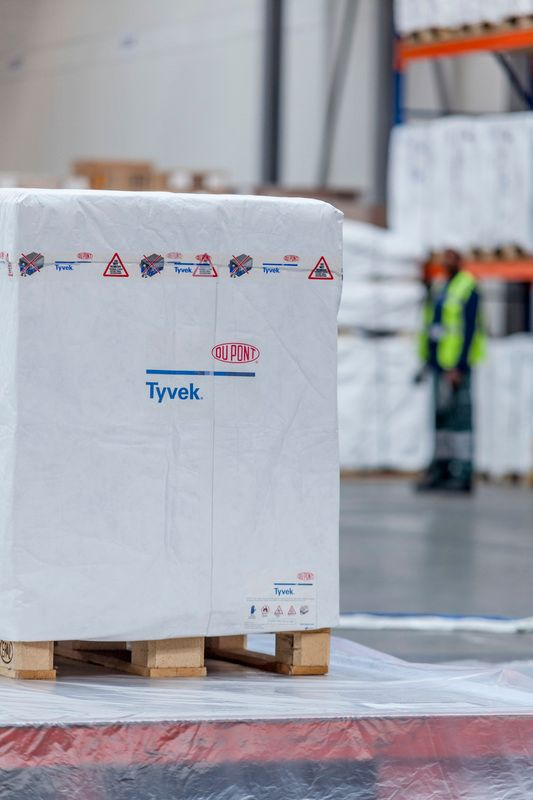 Tyvek Cargo Covers