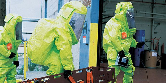 DuPont™ Tychem® garments helps protect industrial and public sector workers with