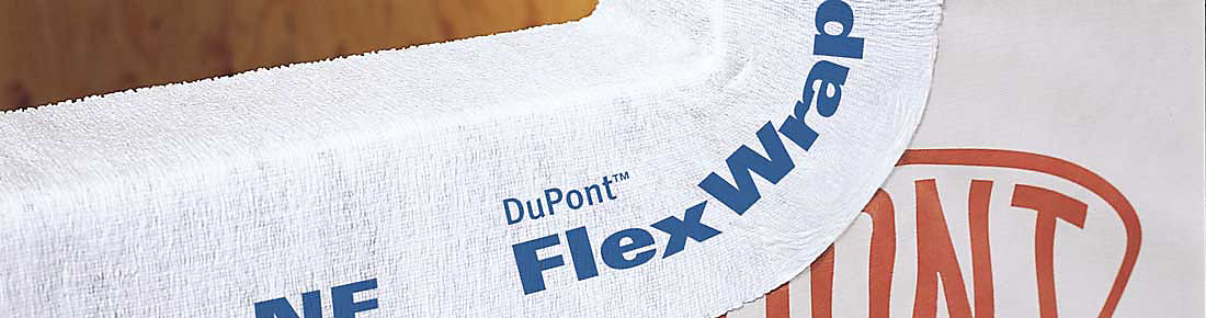 Self Adhered Flashing | DuPont™ FlexWrap™ NF | DuPont USA